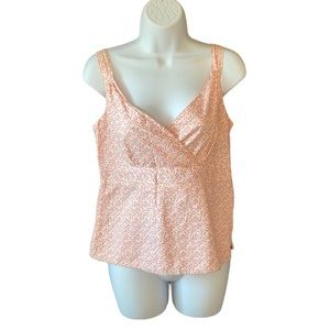 Gap Crossover Chest Summer Top Size S
